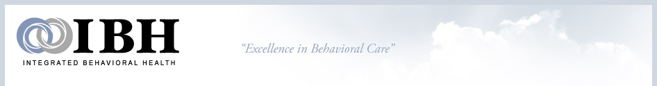 IBH Integrated Behavioral Health